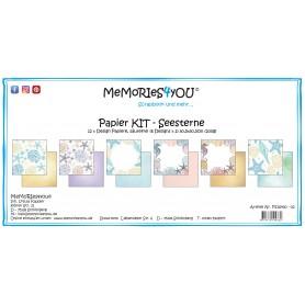 "Memoreis4you - Papier Kit ""Seesterne"""