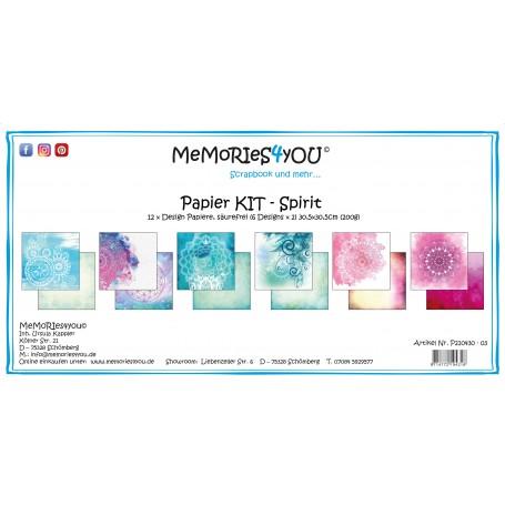 "Memories4you - Papier Kit ""Spirit"""
