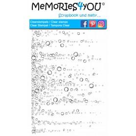 "Memories4you Stempel (A6) ""Wassertropfen """