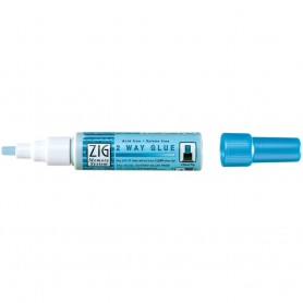 Zig 2-Way Glue Pen Bulk Chisel Tip