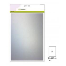 CraftEmotions Transparentpapier - Pergament 10 Blätter A4 140GR