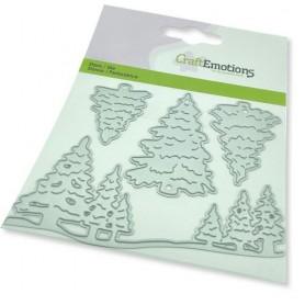 CraftEmotions Die - Weihnachtsbäume