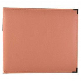 We R Memory Keepers • Faux leather album 30,5x30,5cm Coral
