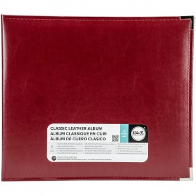 We R Memory Keepers • Faux leather album 30,5x30,5cm Wine