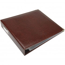 We R Memory Keepers • Faux leather album 30,5x30,5cm Cinnamon