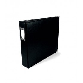 We R Memory Keepers • Faux leather album 30,5x30,5cm Black