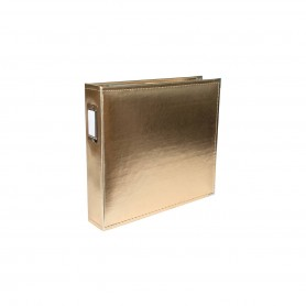 We R Memory Keepers • Faux leather album 30,5x30,5cm Gold