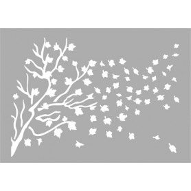 """Memories4You Stencil (A6) """"Herbstwind"""""""