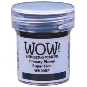 WOW! Embossing Ebony 15ml / Super Fine