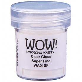 WOW! Embossing Clear Gloss 15ml / Super Fine