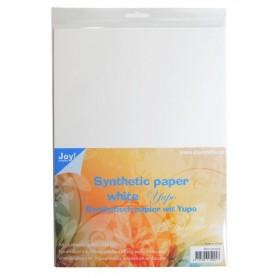 Joy crafts synthetisch papier a4 weiß
