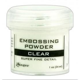 Ranger Embossing Powder 16ml - super fine - clear