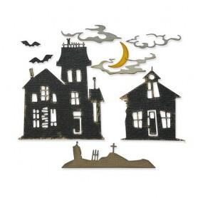 Sizzix Thinlits Die Set 8PK - Ghost Town 2 - Tim Holtz