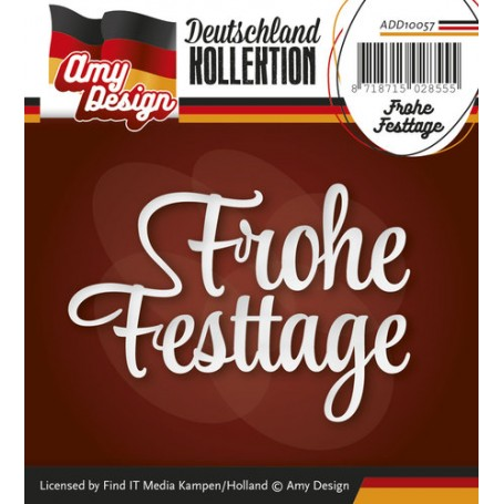 Amy Design Die - Frohe Festtage