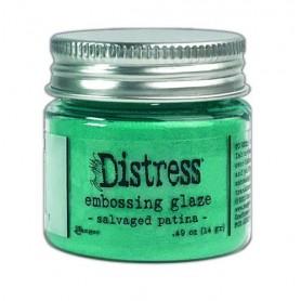 Ranger Distress Embossing Glaze - Salvaged Patina