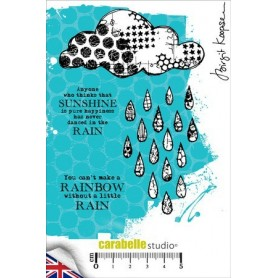 Cling Stamp : Dancing in the rain