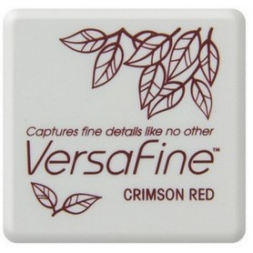Versafine klein Stempelkissen Crimson red