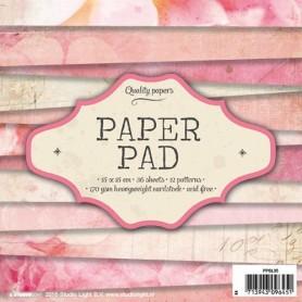 Studio Light Paper pad 36 Bogen 12 designs nr 35 15x15cm