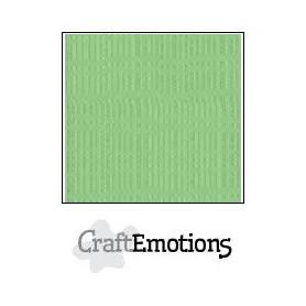 CraftEmotions Leinenkarton 10 Bg Pistazie 27x13,5cm 250gr