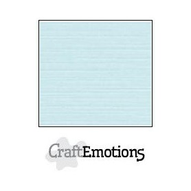 CraftEmotions Leinenkarton 10 Bg baby blue 27x13,5cm 250gr