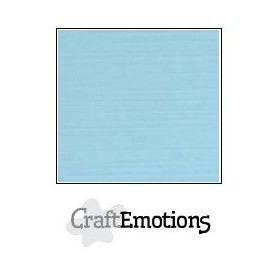 CraftEmotions Leinenkarton 10 Bg hellblau 27x13,5cm 250gr