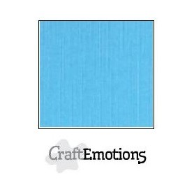 CraftEmotions Leinenkarton 10 Bg aqua 27x13,5cm 250gr