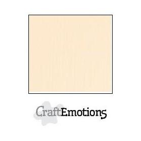 CraftEmotions Leinenkarton 10 Bg Sand 27x13,5cm 250gr