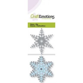 CraftEmotions Die - Kristall 3D Card 5x10cm