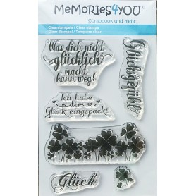 Memories4you Stempel Glück 01