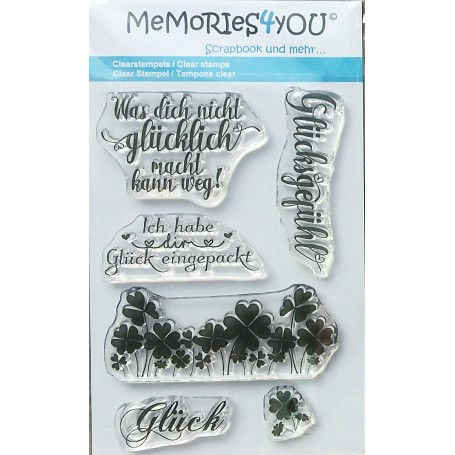Memories4you Stempel Glück