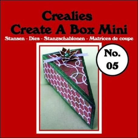 Crealies Create A Box Mini no. 05 Stück Kuchen 9,5x5,0x3,5 cm