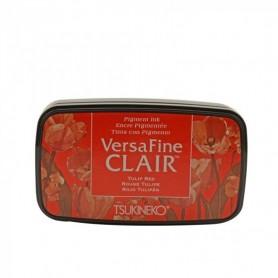 Versafine ink pad Vivid Tulip Red