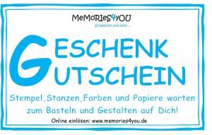 """Memories4you """"Freude für Freunde"""" ( Gutschein)"""